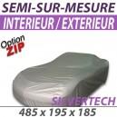Housse extérieure/intérieure en Polyuréthane - Housse Silvertech (04B) : Bache protection voiture