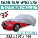 Housse extérieure/intérieure en Polypropylène - Housse Softbond (04B) : Bache protection voiture
