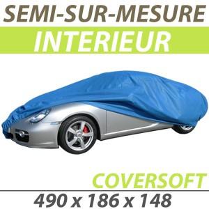 Bache intérieure semi-sur-mesure en Polypropylène COVERSOFT - Bache voiture : Housse protection Audi R8