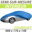 Housse intérieure semi-sur-mesure en Polypropylène COVERSOFT - Housse auto : Bache protection Volvo V60