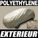 Bache voiture extérieure imperméable en Polyéthylène Camel