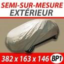 Housse bache extérieure de protection en polyéthylène pour auto BP1