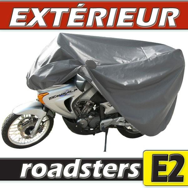 b che housse protection moto roadster avec top case et bulle haute semi sur mesure ext rieure. Black Bedroom Furniture Sets. Home Design Ideas