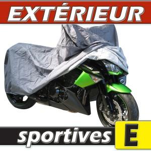 B che housse protection moto sportive semi sur mesure for Bache moto exterieur