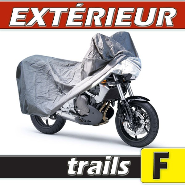 b che housse protection moto trail semi sur mesure ext rieure pvc taille f. Black Bedroom Furniture Sets. Home Design Ideas