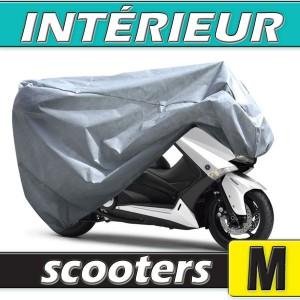 Housse scooter semi-sur-mesure en Polypropylène pour protection à l'intérieur (Taille M)