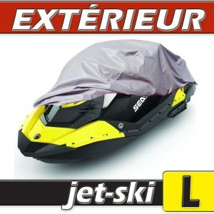 Housse protection Jet-Ski Taille L en PVC gris