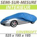 Bache intérieure semi-sur-mesure en Polypropylène COVERSOFT - Bache 4x4 : Housse protection Audi Q7