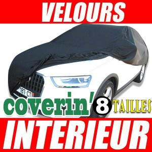 Housse protection int rieure garage voiture bache de protection en jersey 100 polyester - Protection garage voiture ...