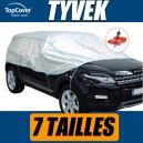 Demi-housse en Tyvek pour protection extérieure - 7 tailles au choix