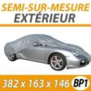 Housse extérieure universelle en PVC Taille S - Housse auto : Bache protection voiture