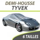 Demi-housse extérieure/intérieure HALFCOVER en Tyvek - Housse auto : Bache protection voiture