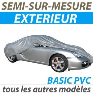 Bache extérieure imperméable semi sur mesure en PVC auto