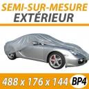 Housse extérieure universelle en PVC Taille BP4 - Housse auto : Bache protection voiture